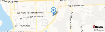 Эталон на карте Донецка