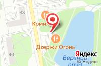 Схема проезда до компании Pizza Corner в Дзержинском