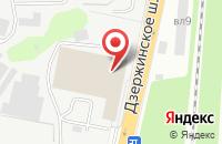 Схема проезда до компании Моби-Билд в Дзержинском