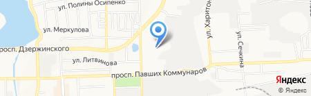 Техника на карте Донецка