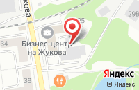 Схема проезда до компании Лилия в Дзержинском