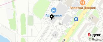 Пиликан Моторс на карте Москвы