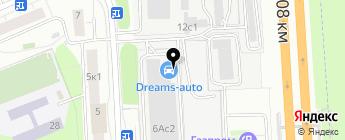 Dreams-Auto на карте Москвы