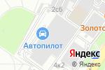 Схема проезда до компании Intehservise.ru в Москве