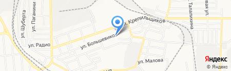 Светлый путь на карте Донецка