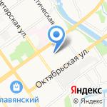 ЛДЦ МИБС-Старый Оскол на карте Старого Оскола