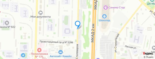 улица Сталеваров