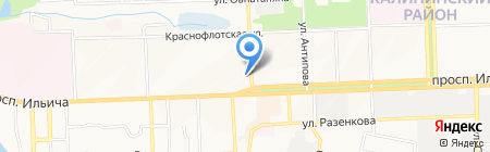 Евростройсервис на карте Донецка