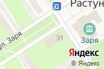 Схема проезда до компании Qiwi в Растуново