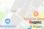 Схема проезда до компании Пожконтроль в Москве