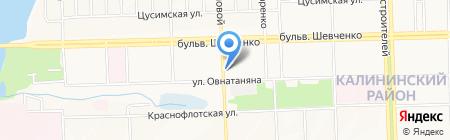 Маруся на карте Донецка