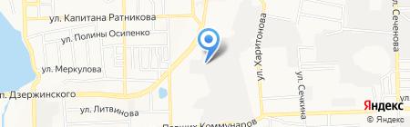 Электродон на карте Донецка