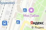 Схема проезда до компании Ticketland в Пушкино