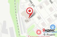 Схема проезда до компании РОВЕРЕТО в Дзержинском