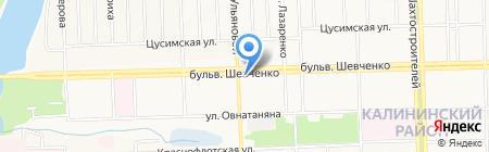 Шедевры Востока на карте Донецка