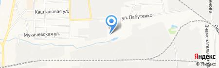 Лифт-сервис на карте Донецка