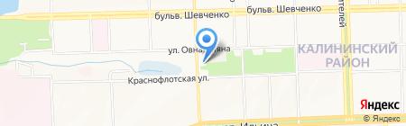 Проминад на карте Донецка