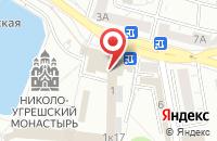 Схема проезда до компании Николо-Угрешский монастырь в Дзержинском