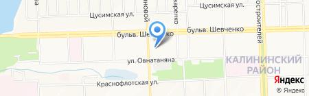 Доктор Ганжа на карте Донецка