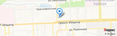 Виктория на карте Донецка