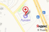 Схема проезда до компании АЗС ЛУКОЙЛ в Чурилково