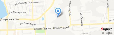 Restime на карте Донецка