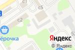 Схема проезда до компании Компания по продаже пиломатериалов в Растуново