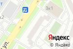Схема проезда до компании Страна Фантазия в Москве