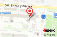 Схема проезда до компании ОВК Г. ЮБИЛЕЙНОГО в Юбилейном