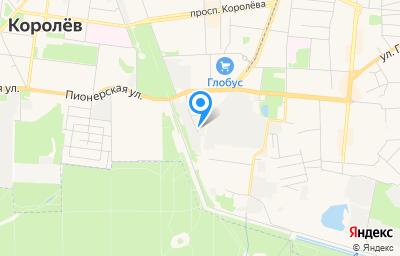 Местоположение на карте пункта техосмотра по адресу Московская обл, г Королёв, проезд Канальный, д 5