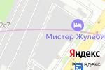 Схема проезда до компании Контарес в Москве