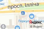 Схема проезда до компании ЛОМБАРД СТАТУС в Донецке