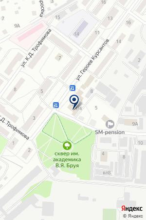 КОНДИТЕРСКИЙ ЦЕХ № 1 на карте Юбилейного