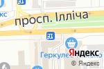 Схема проезда до компании Магазин по продаже фастфудной продукции на проспекте Ильича в Донецке