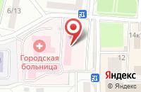 Схема проезда до компании Городская поликлиника в Юбилейном