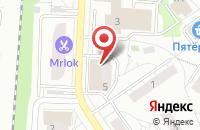 Схема проезда до компании Пятерочка в Дзержинском