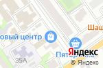 Схема проезда до компании ПРОФ-СЕРВИС в Старом Осколе