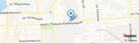 ЮниТерм на карте Донецка