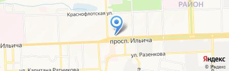 Max Pol на карте Донецка