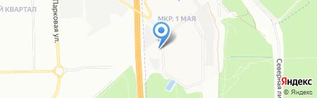 Первое мая на карте Балашихи