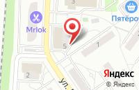 Схема проезда до компании Техногарант в Дзержинском