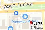 Схема проезда до компании Perfekt в Донецке
