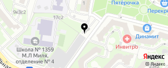 Автодопцентр на карте Москвы