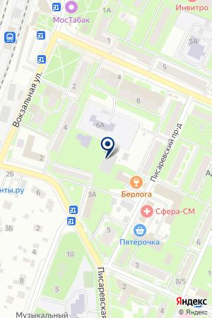 АГЕНТСТВО НЕДВИЖИМОСТИ ГАРАНТ на карте Пушкино