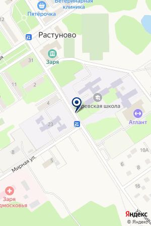 ДЕТСКИЙ САД ЗАРЯНОЧКА на карте Дедовска