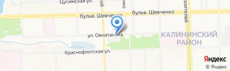 Автостоянка на карте Донецка