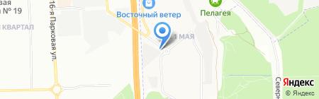 Берёзка на карте Балашихи