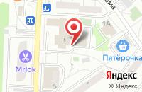 Схема проезда до компании Энергетик в Дзержинском