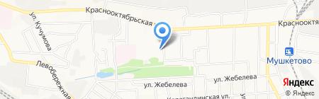 Детский сад №125 на карте Донецка