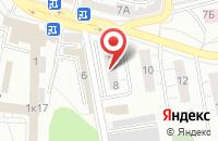 Схема проезда до компании Мастер Пласт в Дзержинском